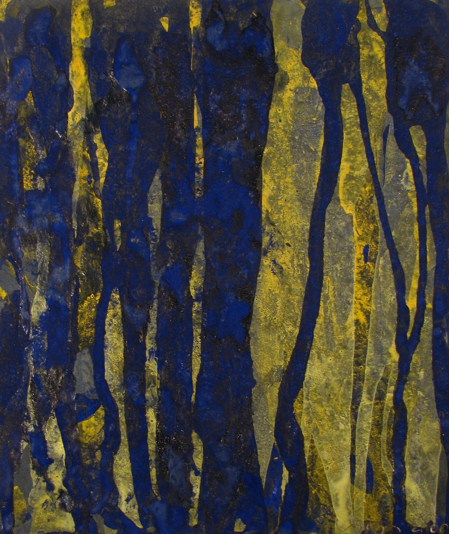 Blue vertical - Dollinger, Simon L. - k-DO04
