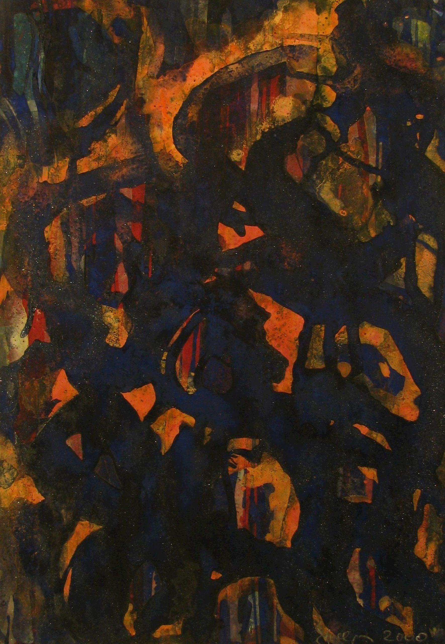 Blue/Red - Dollinger, Simon L. - k-DO05