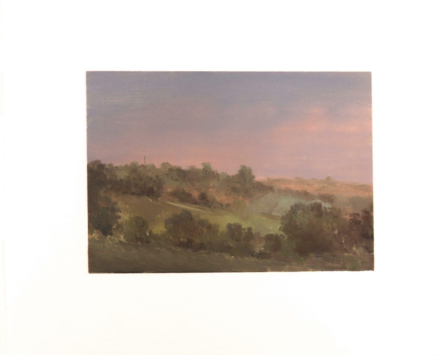 Landschaft - Rieck, Hellmuth - k-HR23a