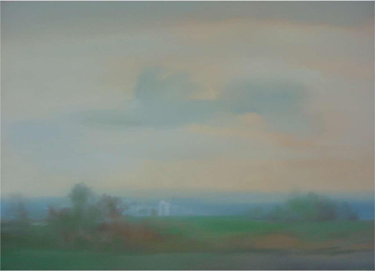 Landschaft - Rieck, Hellmuth - k-HR51