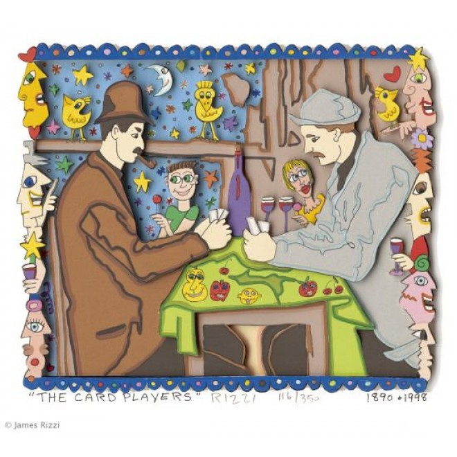 The card players - Rizzi, James - k-RIZ1306