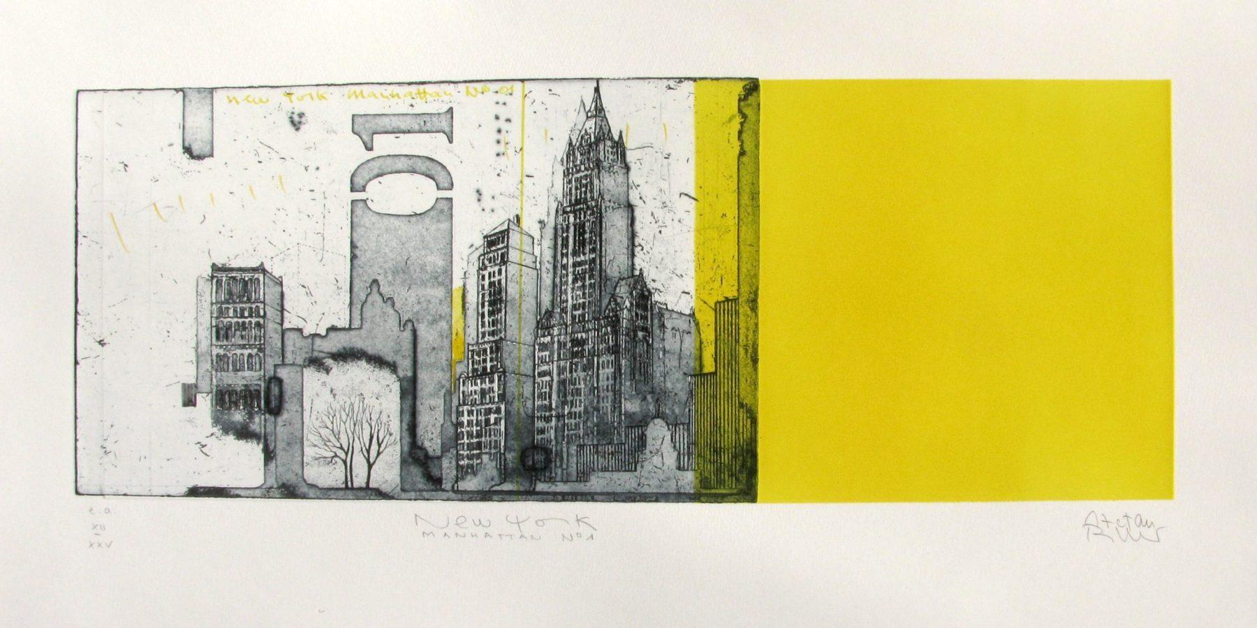 New York Manhattan Nr.1 - Becker, Stefan - k-Stb361
