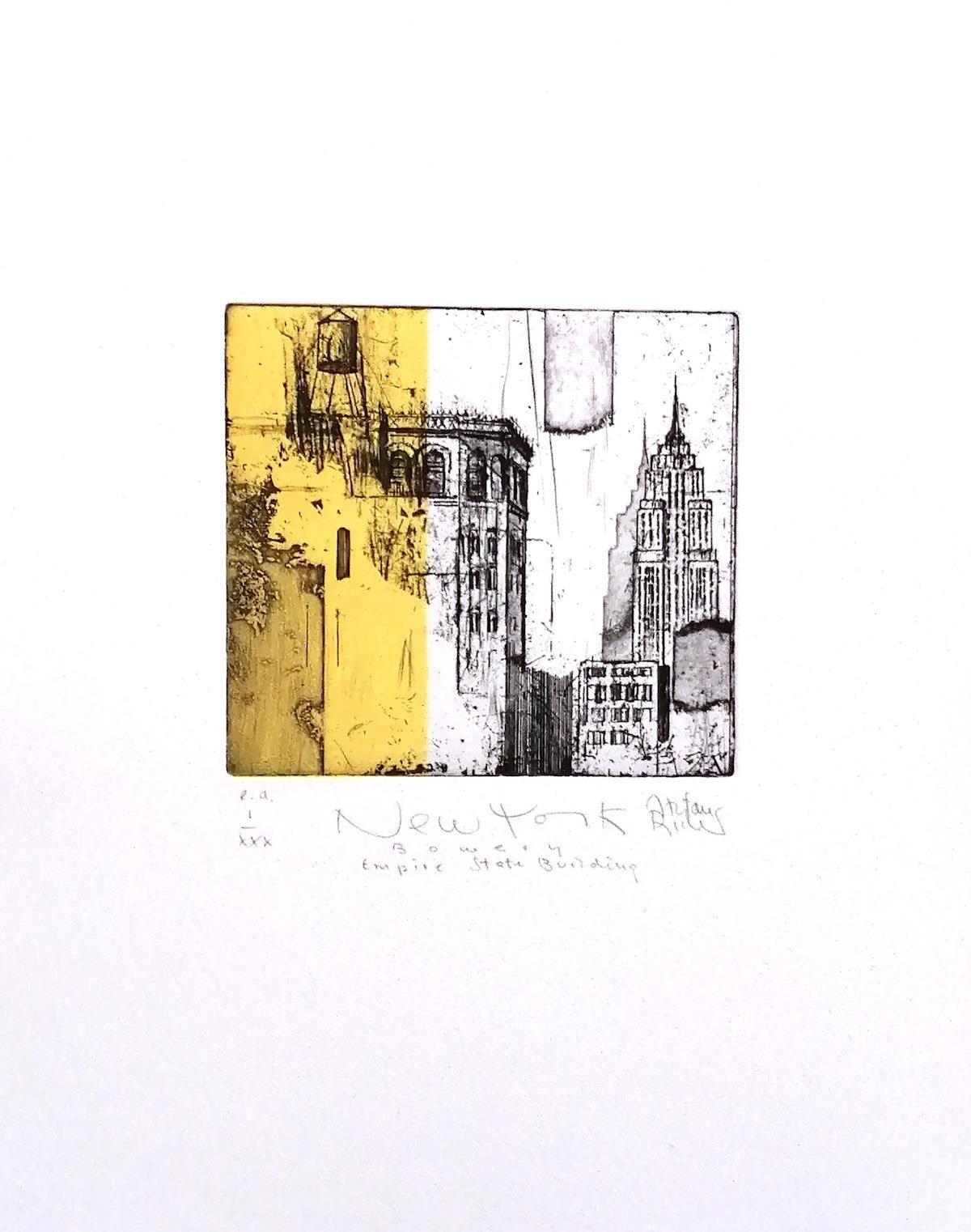 New York Bowery Empire State Buildung - Becker, Stefan - k-Stb411