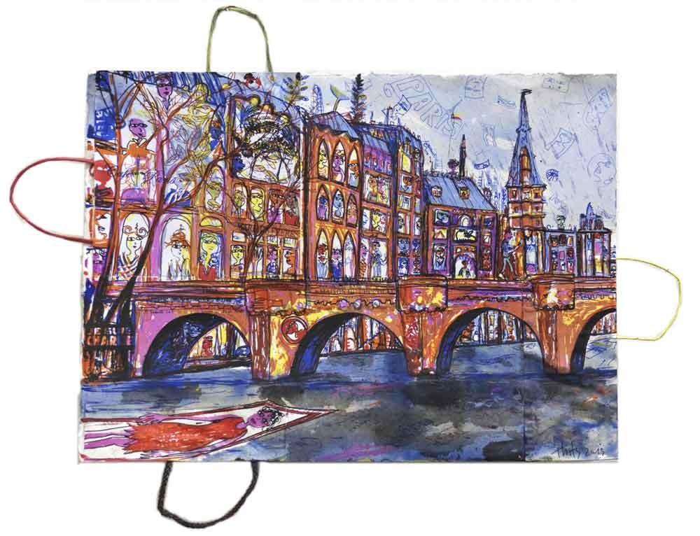 Paris Pont - Thitz - k-THI02