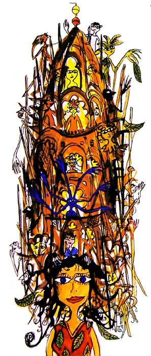 Towergirl indian - Thitz - k-THI10