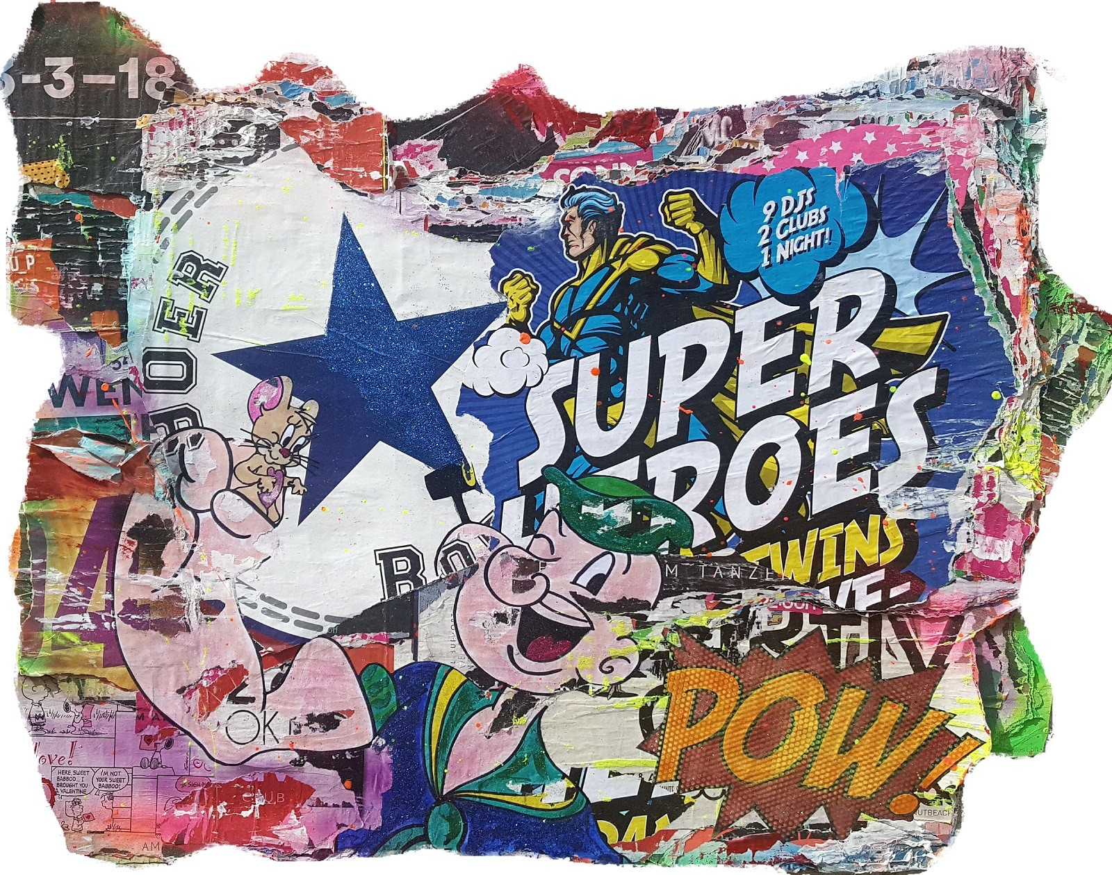 Superhelden - Popeye & Jerry - Kiesewalter, Tanja - k-TK14