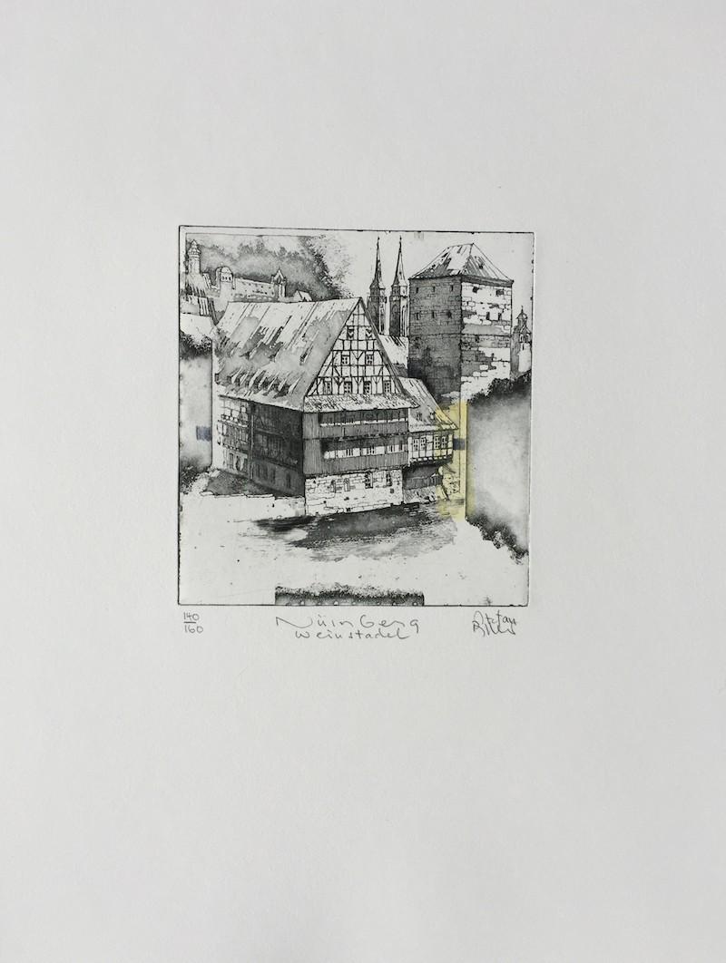 Nürnberg vom Weinstadel - Becker, Stefan - k-stb387