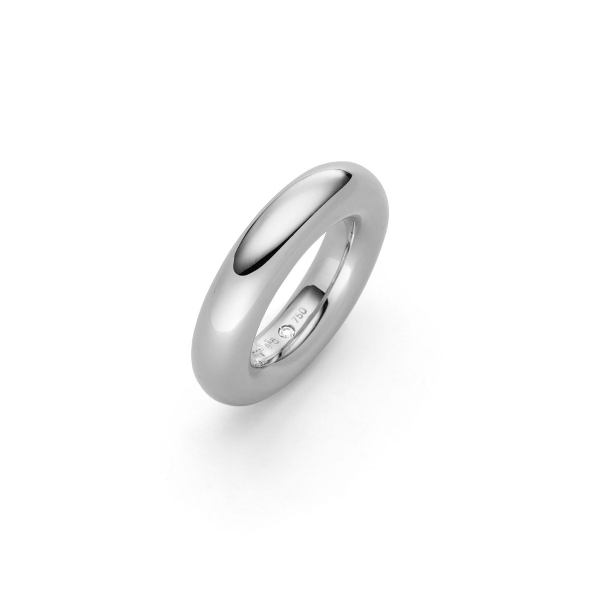 Ring Rotond 18ct Weißgold - IsabelleFa - 02024/06RIN-WG