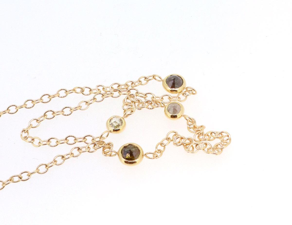 Diamantkette 18ct Roségold - TwentyTen - 11042dia