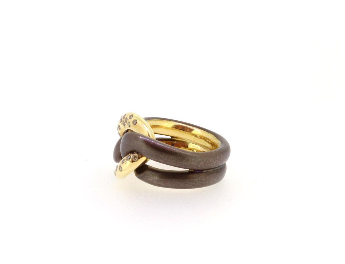 Ring Bronze 18ct Roségold - IsabelleFa - BR13482/1B