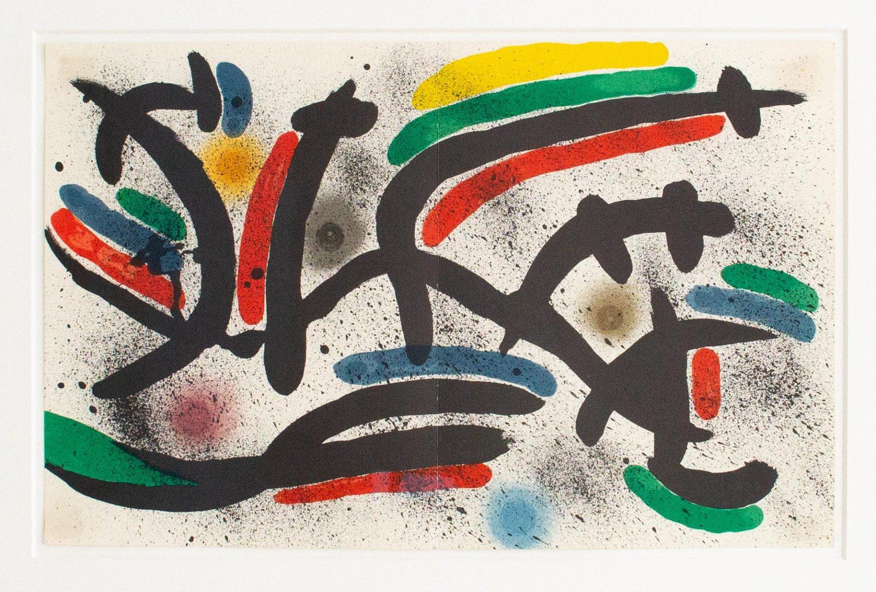 Litografo I - Miro, Joan - k-04372