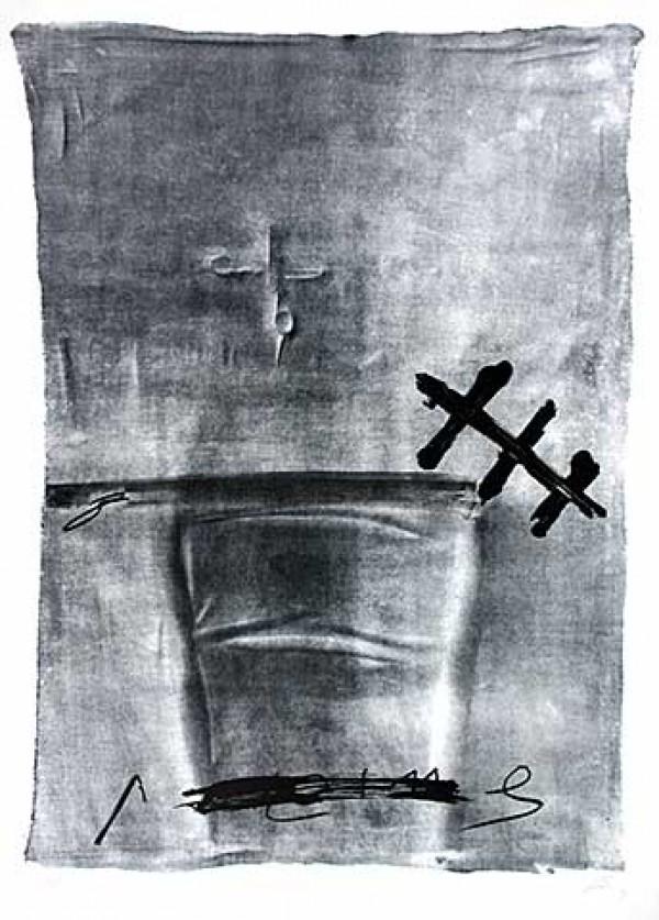 chaise et ciseau - Tapies, Antoni - k-2009TAP2