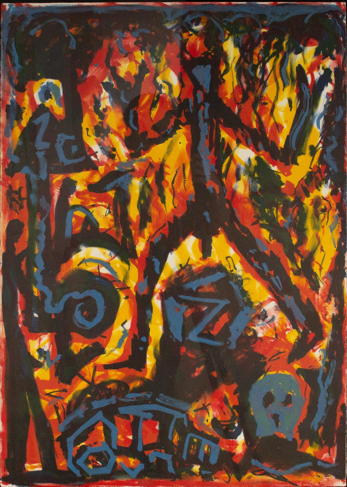 Flammen - Penck, A.R. - k-409PEN1