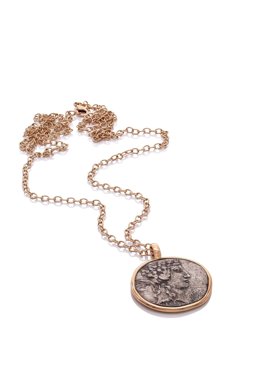 Anhänger antike Münze Dionysos 18ct Roségold - TwentyTen - 11447