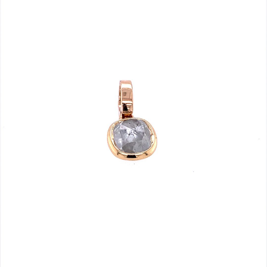 Anhänger Diamantrose Cushion 18ct Roségold - TwentyTen - 11562