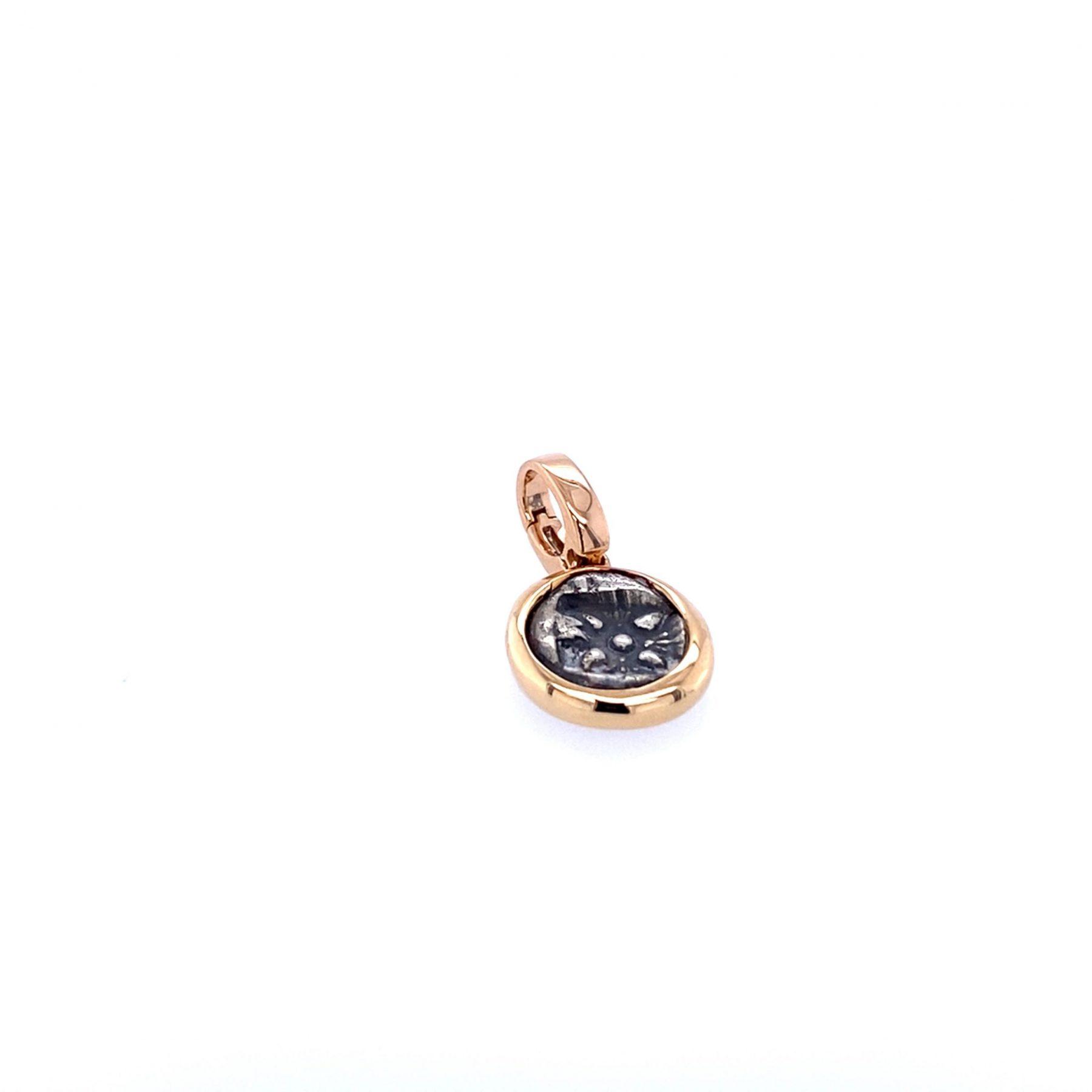 Einhänger Münze Stern Löwe 18ct Roségold - TwentyTen - 11577