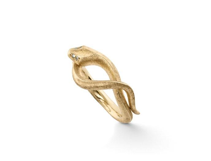 Ring Snakes 18ct Gelbgold - Ole Lynggaard - A2672-401