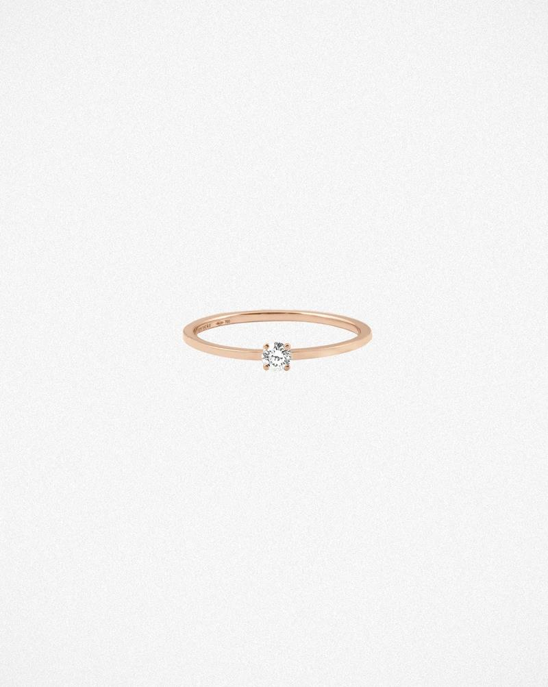 Ring Valentine Roségold Brillant - vanrycke - BV1R1-03