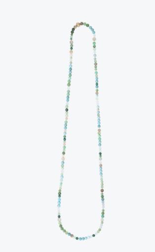 Steinkette Türkis Mondstein Aquamarin - Ole Lynggaard - D9985-001