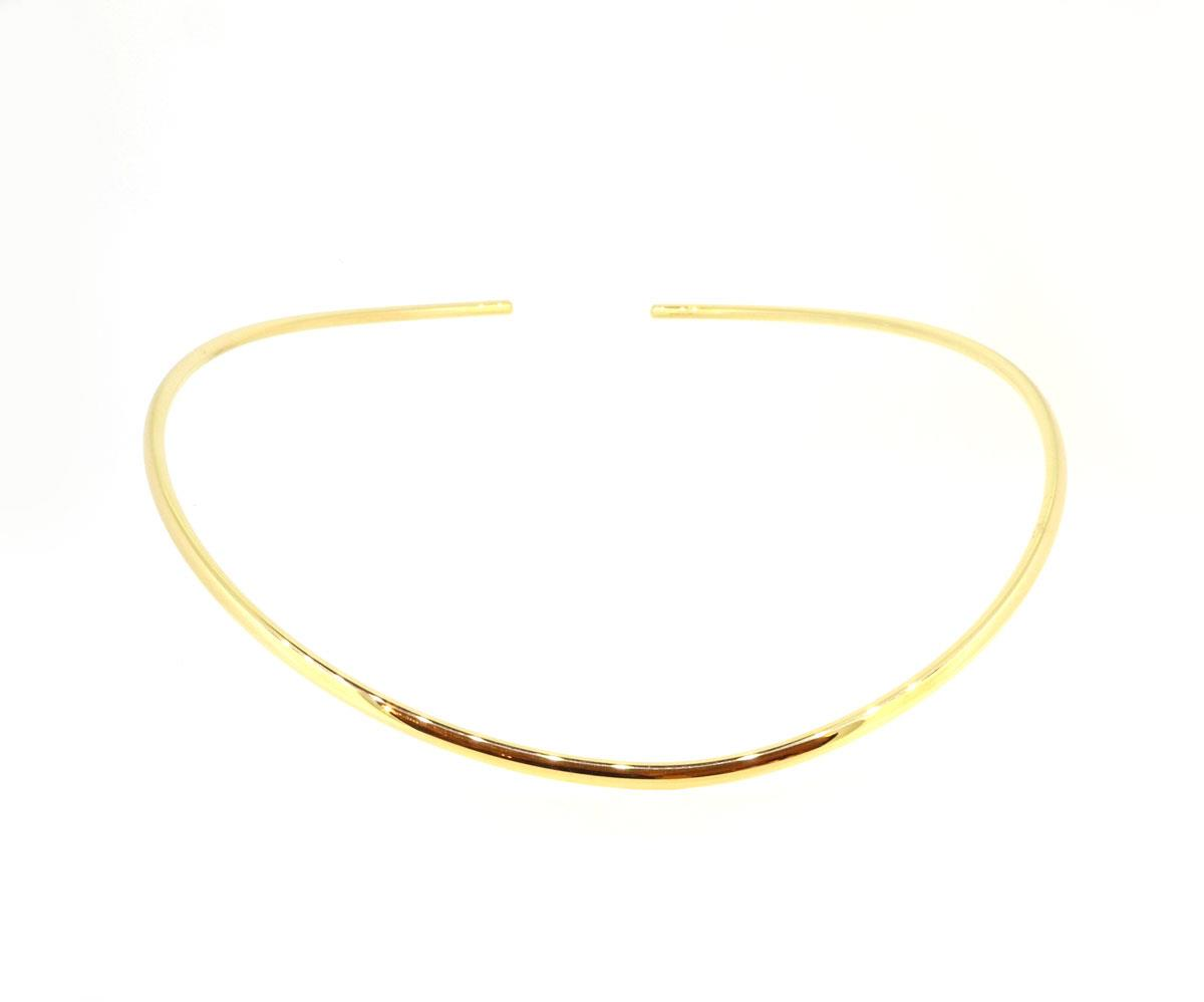 Halsreif Flix Flex 18ct Gold - IsabelleFa - S22027/3,5/2