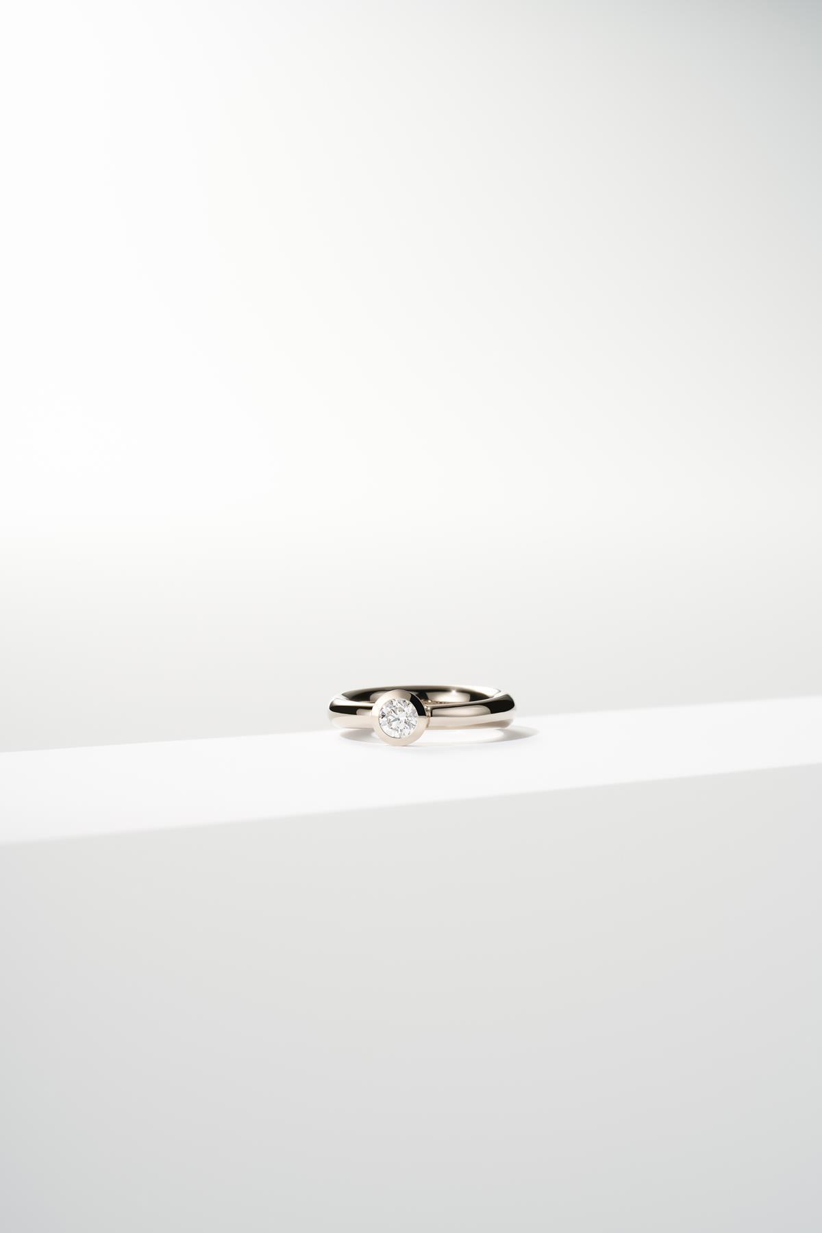 Ring Type Brillant Oro Grigio - Jochen Pohl - T6S5