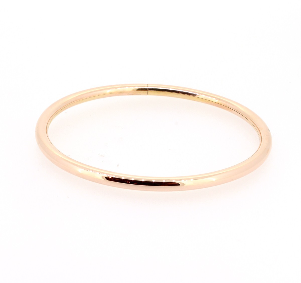 Armreif 18ct Rotgold 4mm - Emil Brenk - 0/20334/M/L/750r