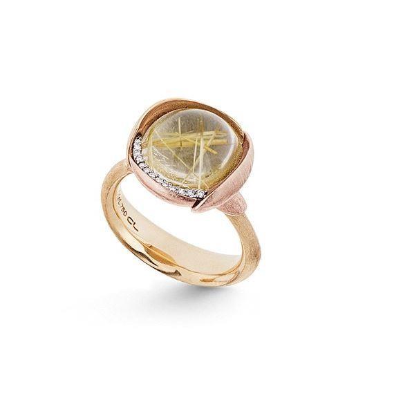 Ring Lotus No.3 Rutilquarz - Ole Lynggaard - A2652-411