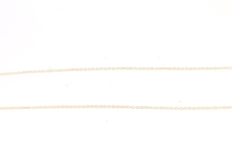 Kette Anker 45cm 18ct Roségold - GalerieVoigt - FC01-45R