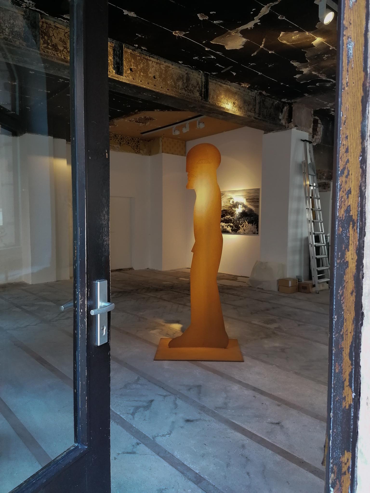 Pop-Up Galerie, Obere Wörthstraße, Nürnberg, Horst Antes Figur 1000, Seo-Zimmermann