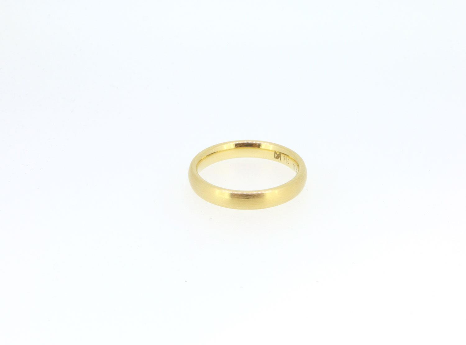 Ring Oval 18ct Gelbgold - Meister - 10.1868.140