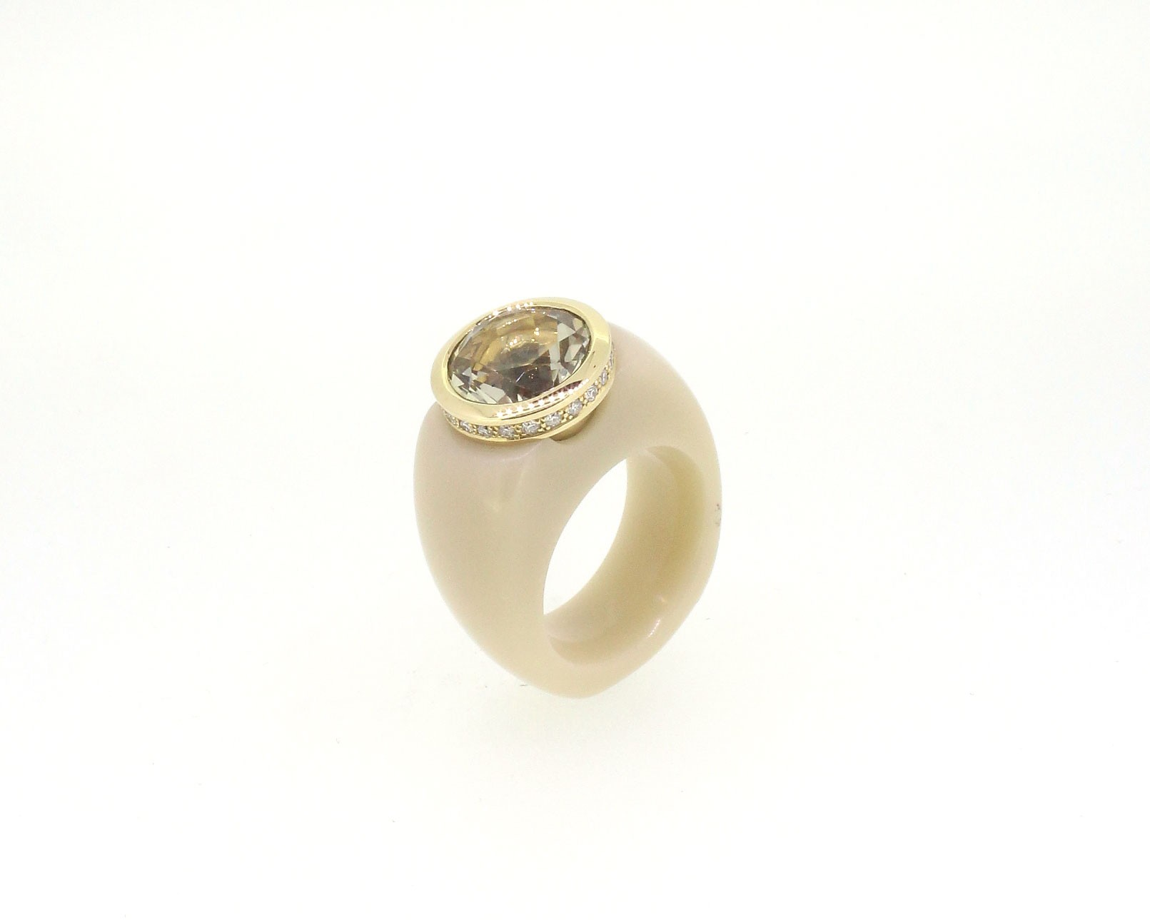 Ring Marbles 18ct Gelbgold - Monika Seitter - 409seit12-6