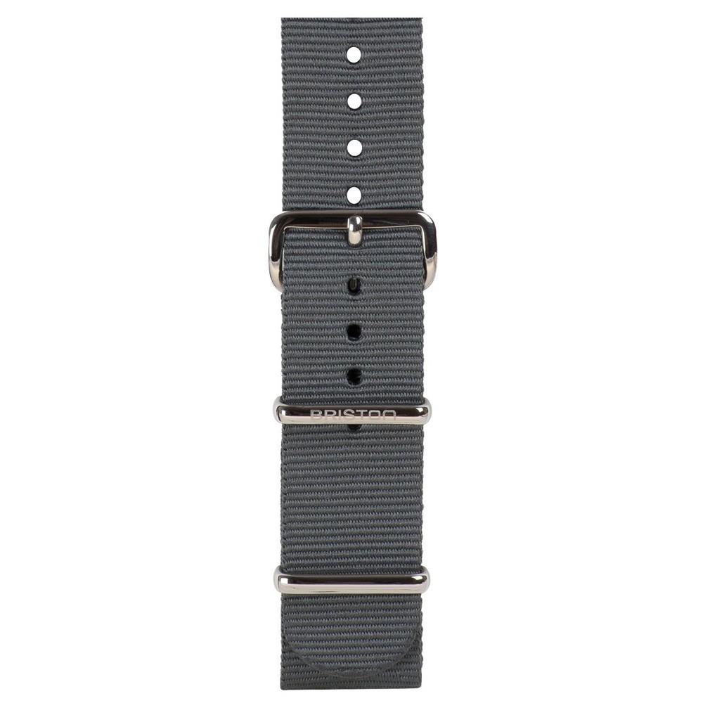 Uhrenarmband grau - Briston - NS18.G