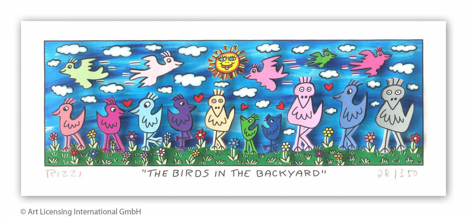 the Birds in the Backyard - Rizzi, James - k-2108RIZ2