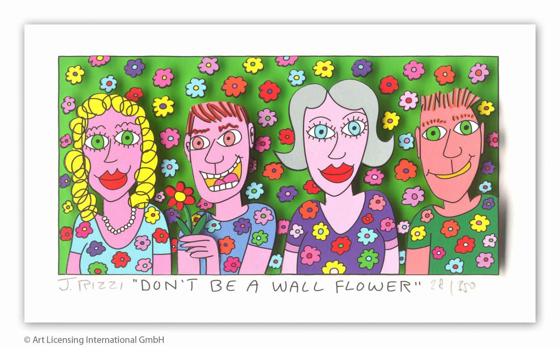 Don't be a wall flower - Rizzi, James - k-2108RIZ3