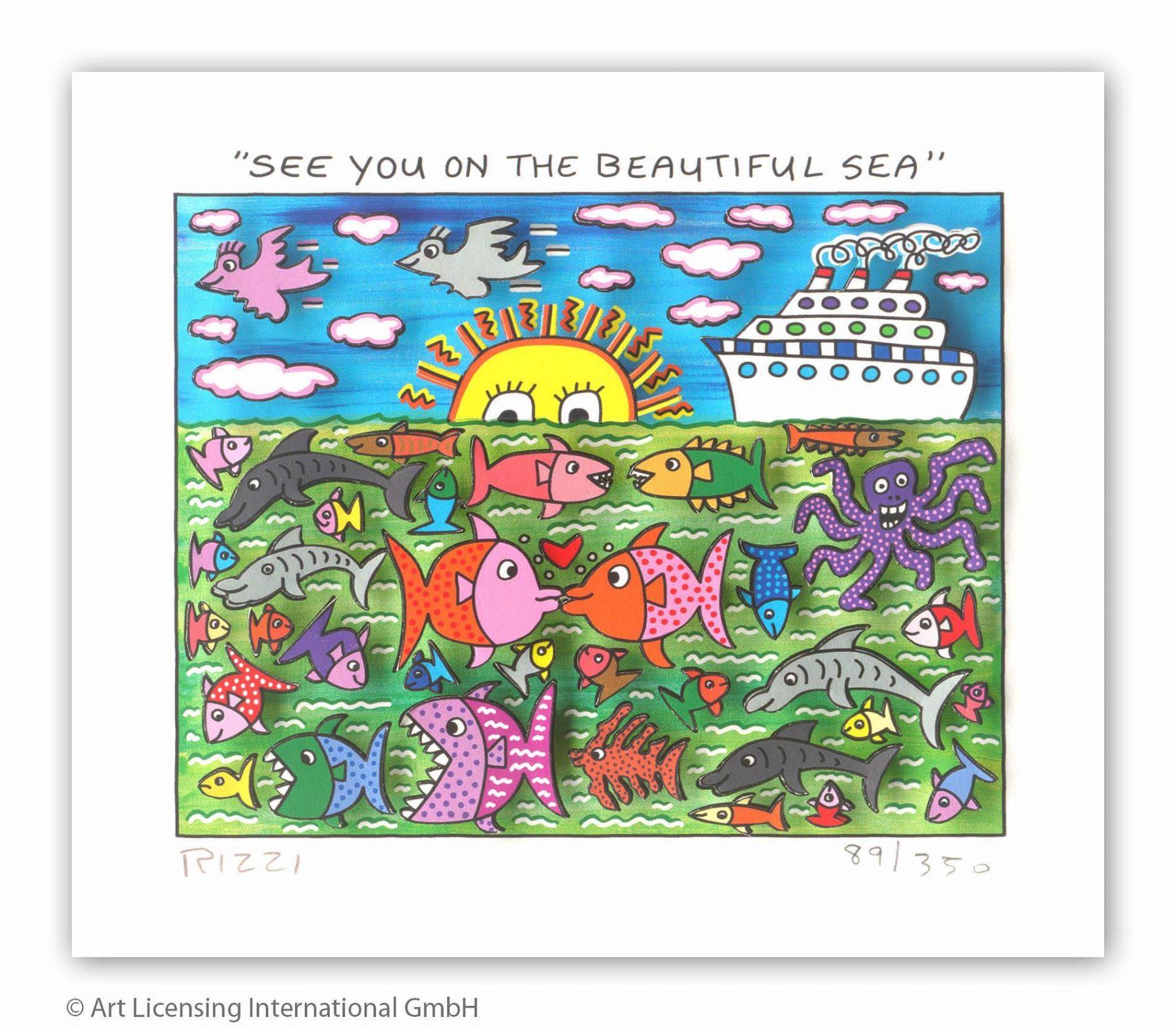 See you on the beautiful sea - Rizzi, James - k-2108RIZ5