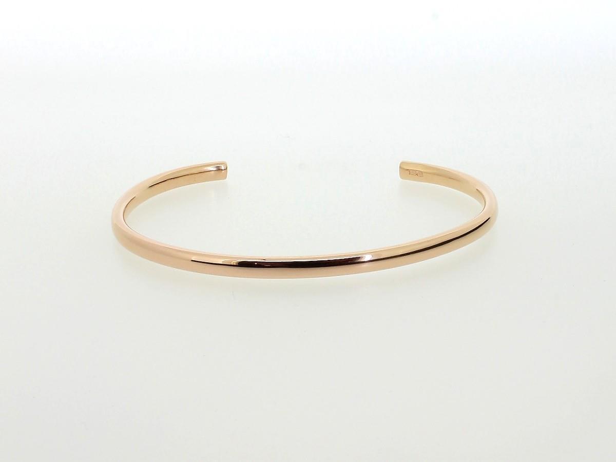 Armspange Massiv Silber rosegoldplattiert - Emil Brenk - 020368.ML.gpl.rot