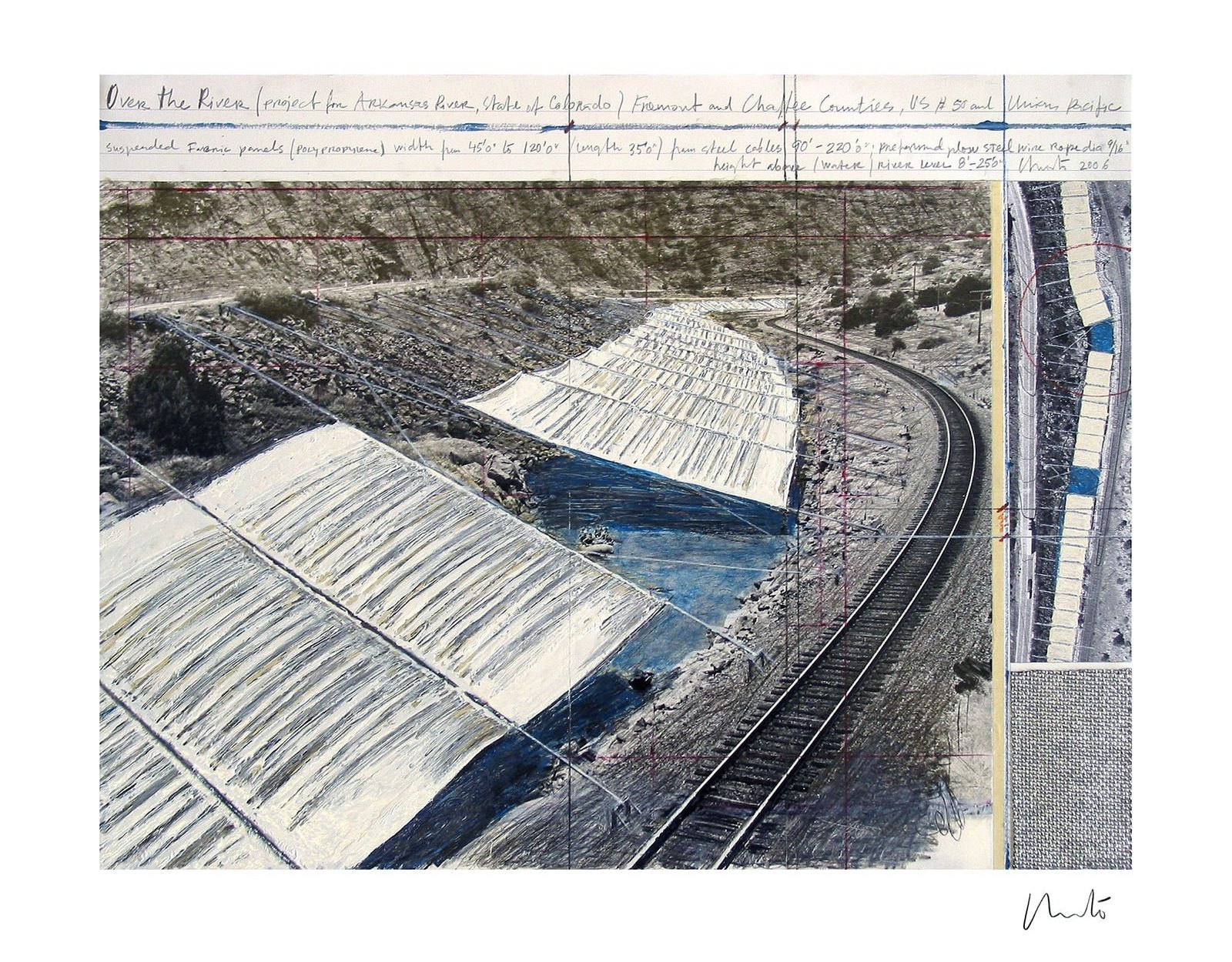 Christo: over-the-arkansas-river-project-a