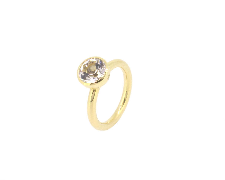 Ring Twiggy Bergkristall 18ct Gelbgold - Georg Spreng - 418spre01-1