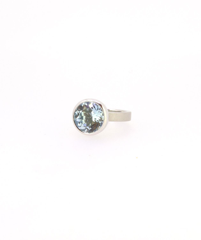Ring Blub 12mm Aquamarin Platin - Niessing - 420spre12-7A
