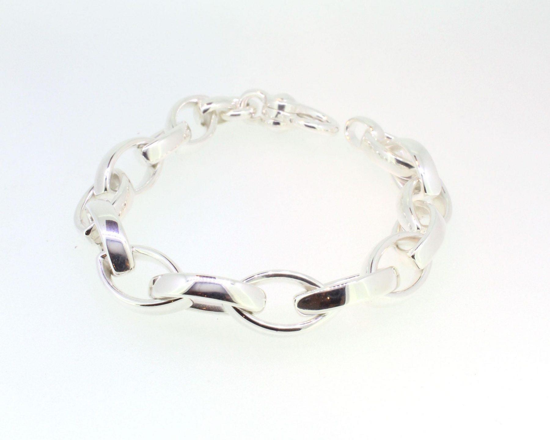 Armband Navette 925 Silber - Emil Brenk - 948.3301.20