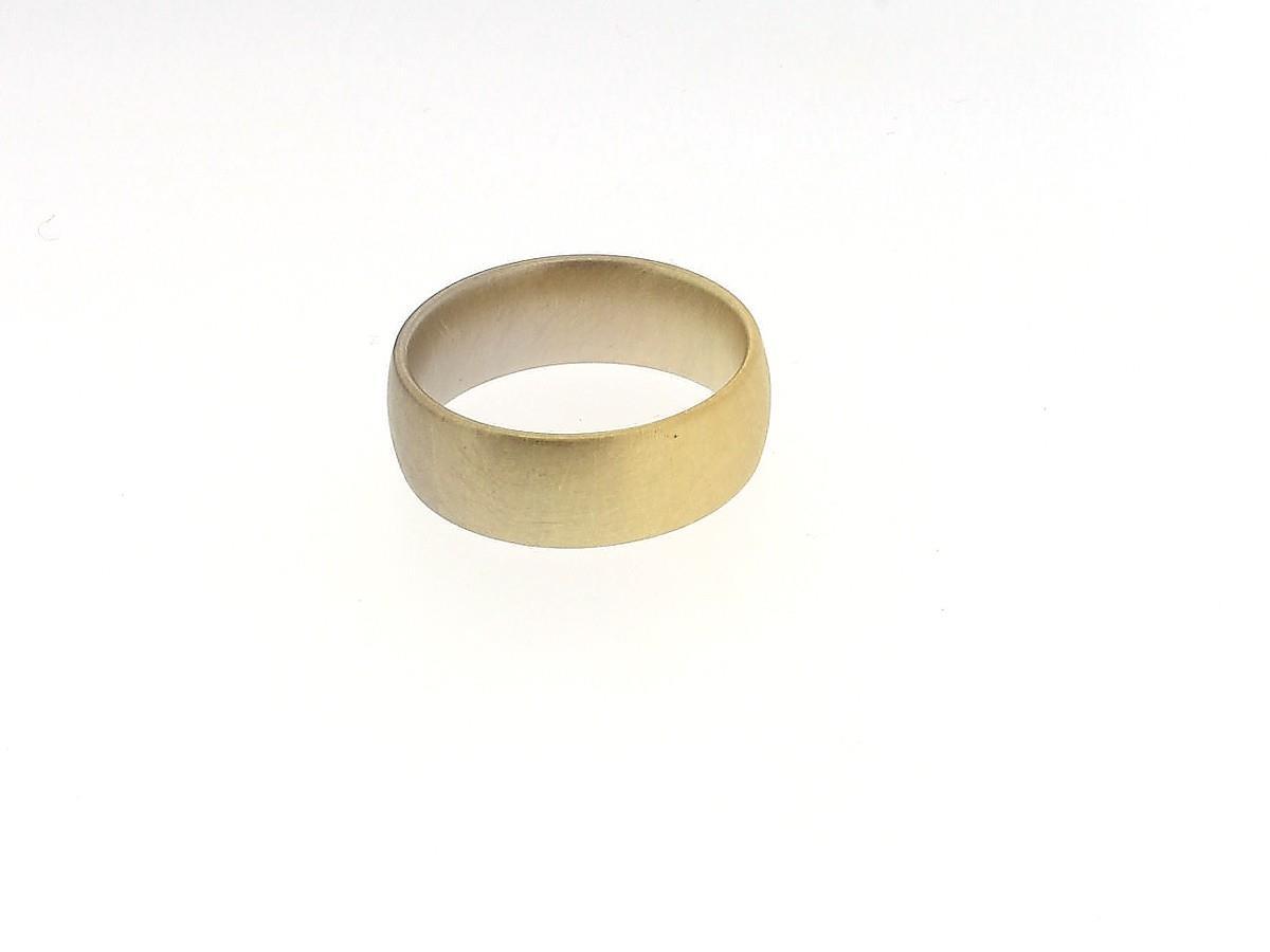 Trauring Aura 18ct Gold - Niessing - N261590.gelbgrau