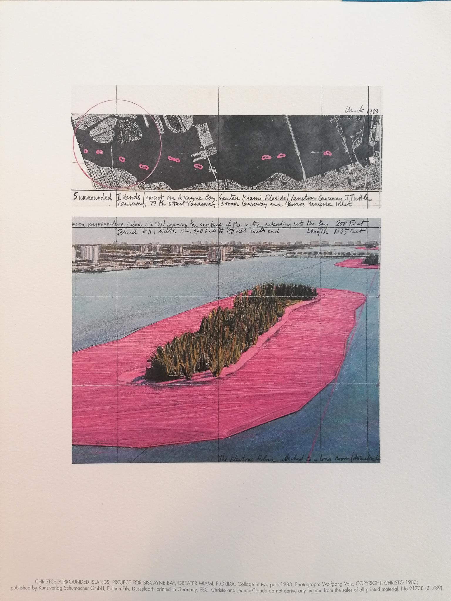surrounded islands, unsigniert - Christo - k-2108CHR3