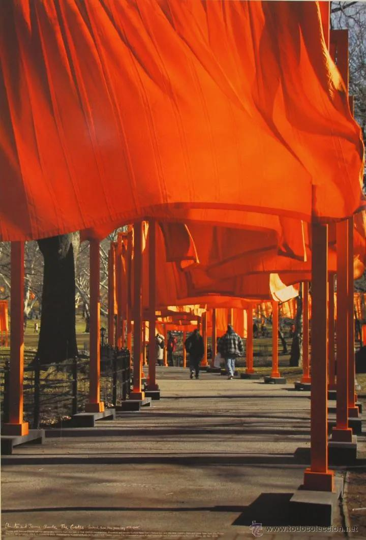 The Gates - New york central park, unsigniert - Christo - k-2108CHR6