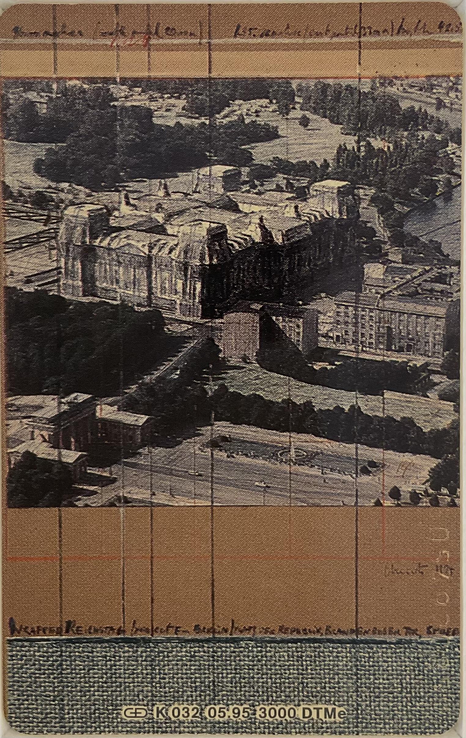 Telefonkarte, Wrapped Reichstag - Christo - k-2109CHR1