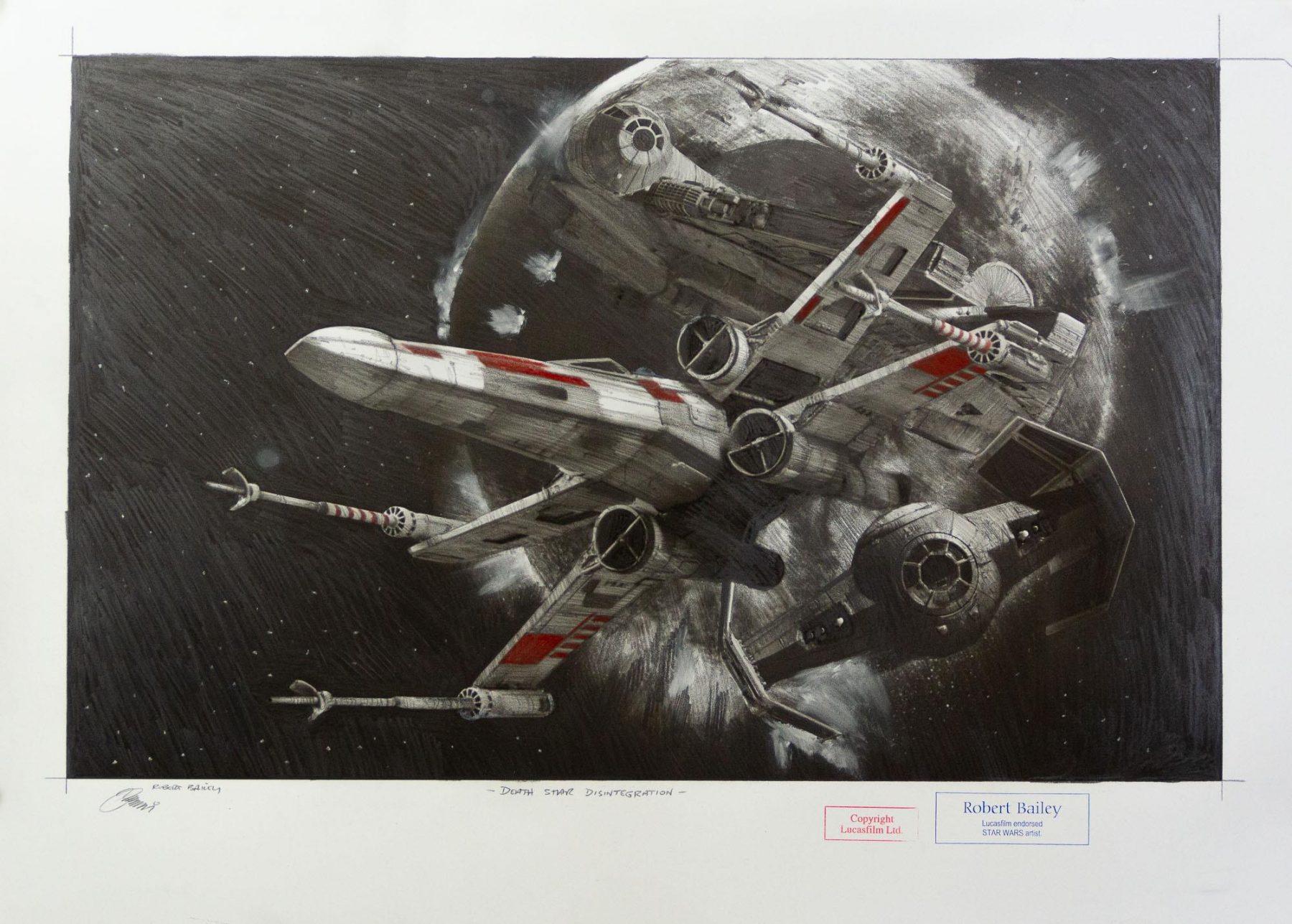 Death Star Disintegration - Bailey, Robert - k-2109RB1