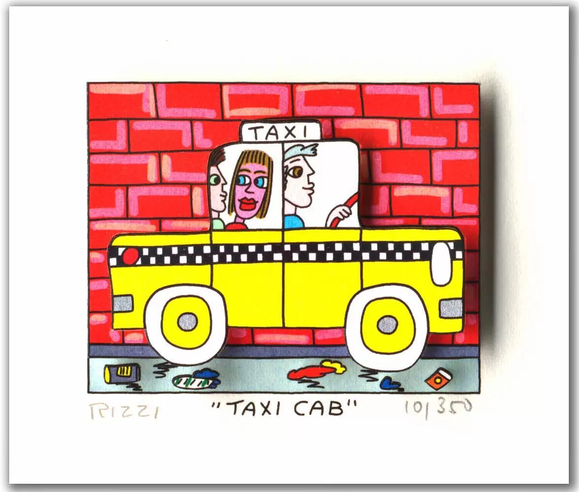 Taxi Cap - Rizzi, James - k-2109RIZ1