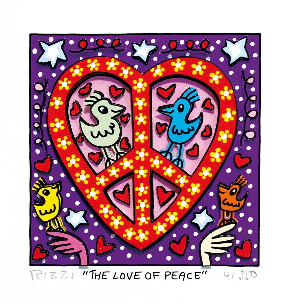 The love of peace - Rizzi, James - k-2109RIZ3
