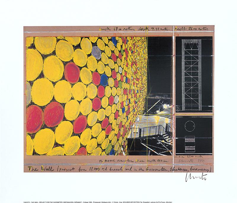 The Wall Nr. IV, 1999 - Christo - k-CHR21