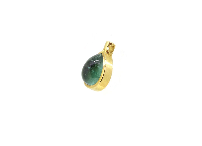 Anhänger Turmalin 18ct Gold - Individuelle Marken - 1030-1692