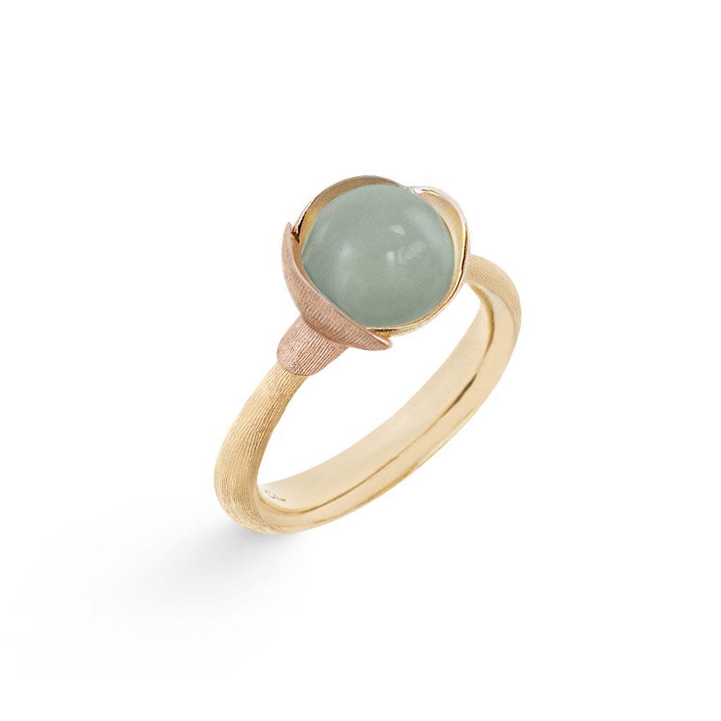 Ring Lotus No 1 Aquamarin - Ole Lynggaard - A2650-409